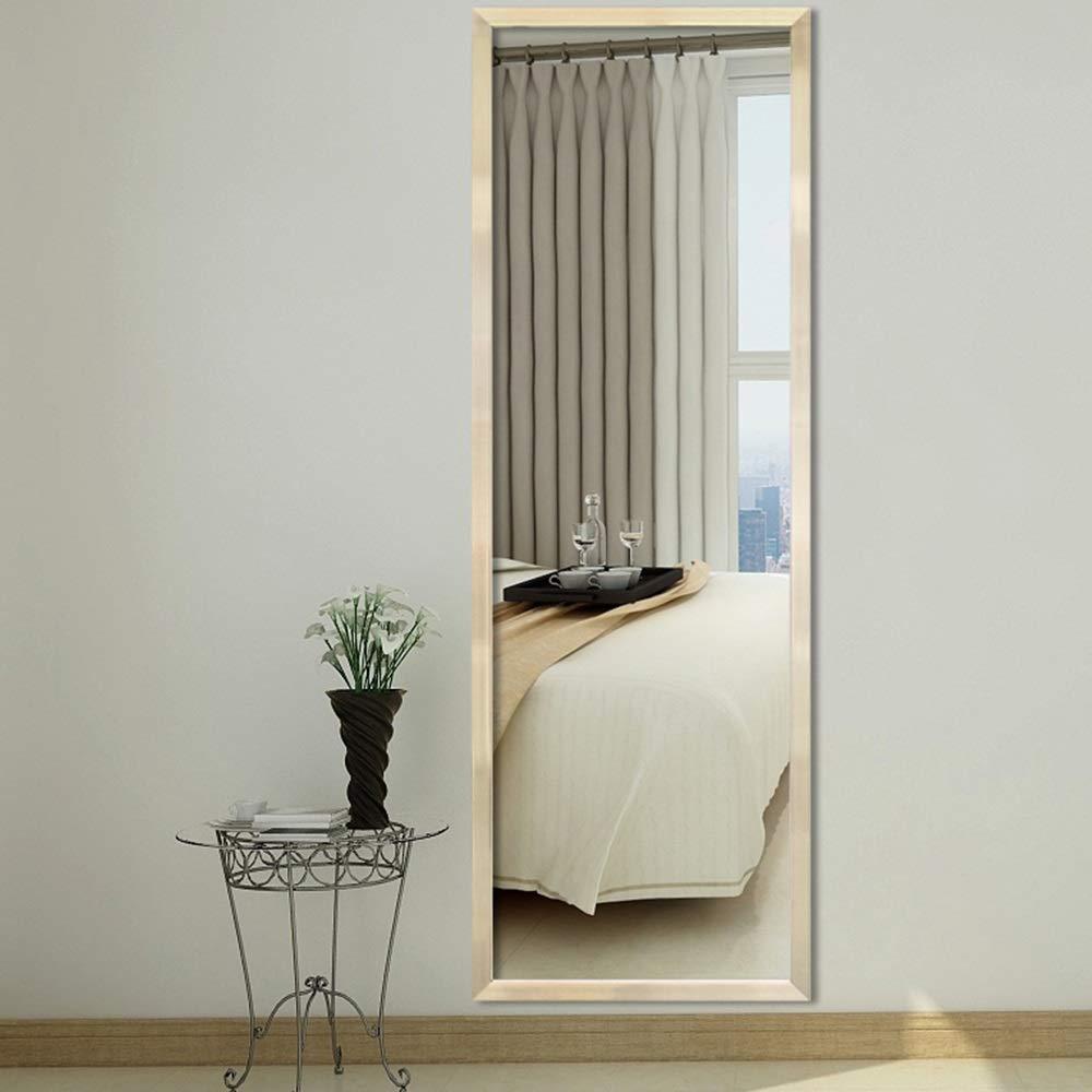Meubles r/églables de chambre /à coucher de miroir de dressage debout de longueur totale debout libre de miroir /à la maison Miroirs en pied Couleur : Blanc, taille : 40 * 120cm