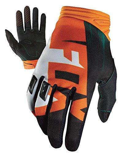 Fox Racing Dirtpaw Vandal Men's Off-Road Motorcycle Gloves - Green/Orange / Small (Gloves Road Mens Women Off)