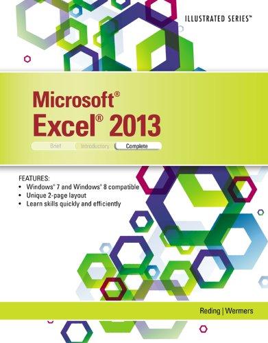 Microsoft Excel 2013: Illustrated Complete Pdf