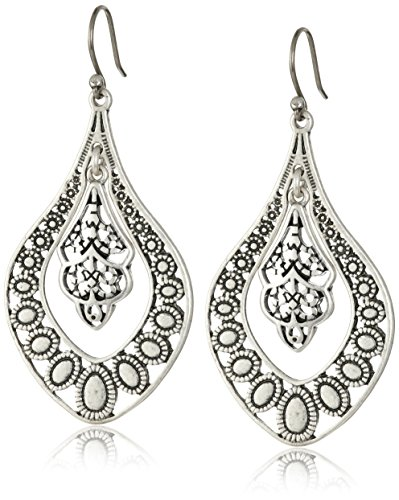 Lucky Brand Silver Filigree Earrings product image