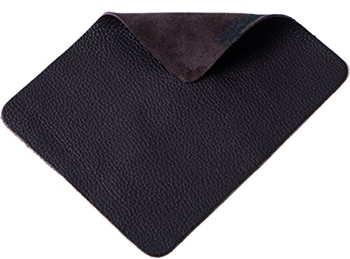 Jima Genuine Full Grain Cowhide Leather Mouse Pad, Soft, Smooth Movement (Cowhide Pads)