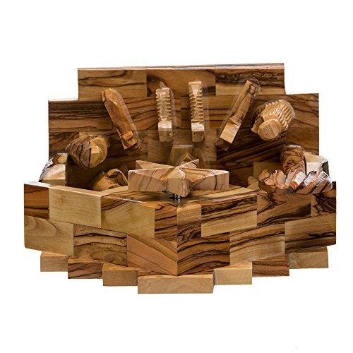 Kurt Adler LOC0003 7.9'' Olive Wood Nativity Music Box by Kurt Adler (Image #5)