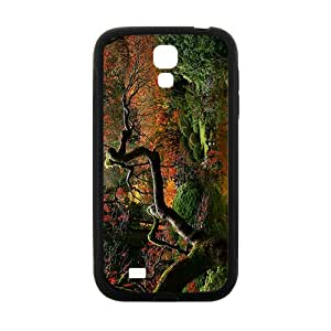 Glam Red Flowers Trees Custom Protective Hard Phone Cae For Samsung Galaxy S4