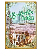 American Greetings The Wizard of Oz Graduation Card with Foil