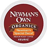 keurig bold decaf - Newman's Own Organics Keurig Single-Serve K-Cup Pods Newman's Special Blend Decaf Medium Roast Coffee, 72 Count (6 Boxes of 12 Pods)