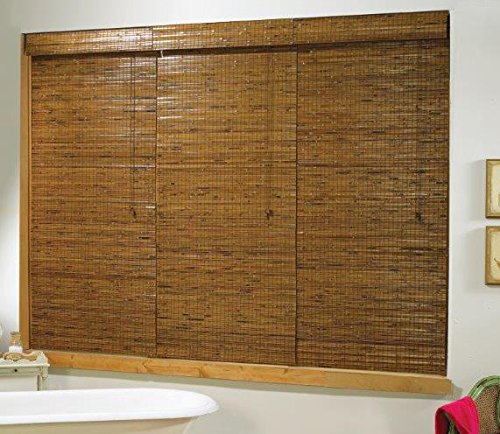 Lewis Hyman 2164864 Tobermory Oak Roman Shade, 48-Inch Wide by 64-Inch Long