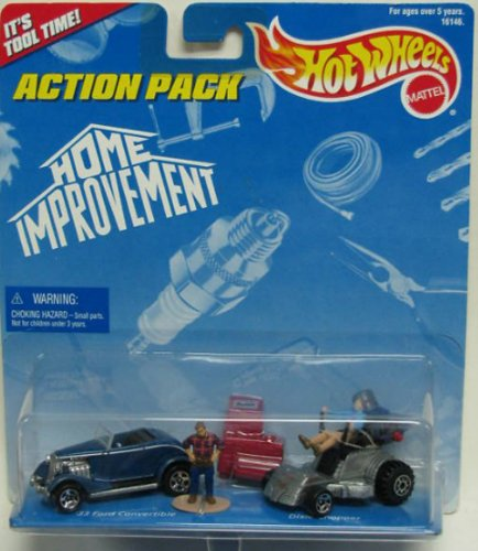 Hot Wheels Action Pack Home Improvement 2 Car pack Ford