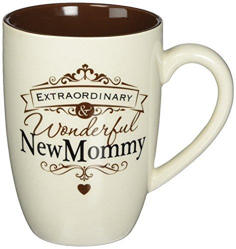 (Insignia Extraordinary Wonderful New Mommy Mug by Enesco, 14 ounce)