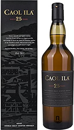 Caol Ila 25 Year Old Single Malt Whisky