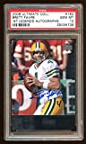 10 Brett Favre 1997 Ud Legends Autograph Auto Super Short Print ! 2009 Ud - PSA/DNA Certified - Football Slabbed Autographed Cards