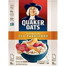 Quaker oats, old fashioned, 2 5 lb. bags, 100+ servings 10-lb