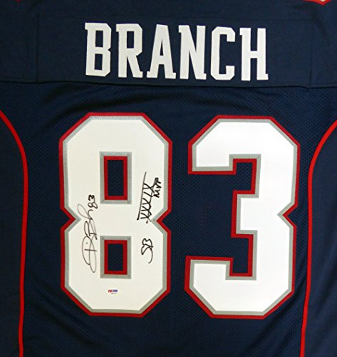 New England Patriots Deion Branch - 1