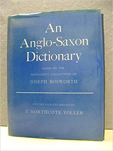 Amazon an anglo saxon dictionary based on the manuscript an anglo saxon dictionary based on the manuscript collections of joseph bosworth fandeluxe Image collections