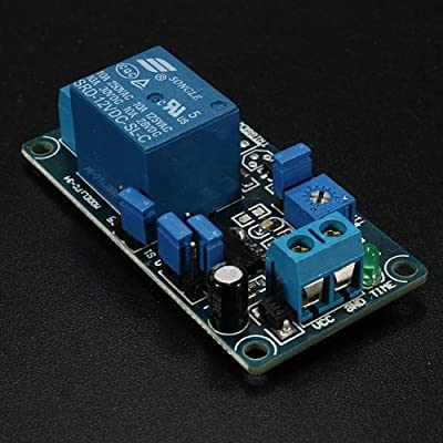 BephaMart 12V Power-ON Delay Relay Module Delay Circuit Module NE555 Chip Shipped and Sold by BephaMart from BephaMart