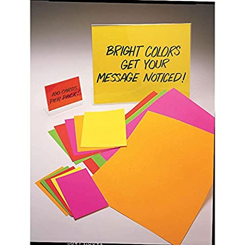 Ready Flow Fluorescent Pink Poster Board - 7
