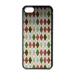 XiFu*Meiiphone 6 plua 5.5 inch Case,Christmas Diamond Pattern Hard Shell Back Case for Black iphone 6 plua 5.5 inch Okaycosama376756XiFu*Mei