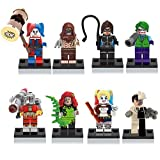 BTZ Toys 2016 New Minifigures Harley Quinn The Joker Suicide Squad Starfire Minifigure Fit Lego Block Toy