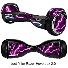 GameXcel Skin for Self-Balancing Electric Scooter - Sticker for Skate Hover Board - Decal for Self Balance Mobility Longboard - Smart Protective Cover Vinyl Case for 2 Wheel Scoote BoardFit for 2.0