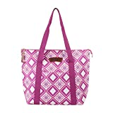 Margaritaville Womens Girls Insulated Chill Travel Tote for Food and Drinks Mosaic Fuchsia Pink For Sale