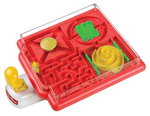 Perfect Life Ideas Labyrinth Gravity Maze Ball Game - Desktop Tabletop 4 Part Obstacle Puzzle Games Toys for Kids Children Adults - Challenge Concentration Hand Eye Co-Ordination Party Travel Game by