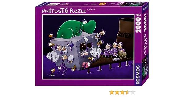 KOSMOS 782184 - Puzzle de 2000 Piezas, diseño de Mafia: Amazon.es: Juguetes y juegos