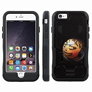 [ArmorXtreme] Hybrid Rugged Armor Design Image Protect Case With Kickstand (Tangface) for Iphone 6 Plus (5.5)