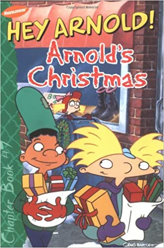 amazoncom arnolds christmas hey arnold chapter book 7 9780689841873 richard bartlett maggie groening various books - Hey Arnold Christmas