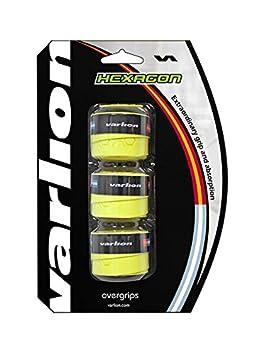 Varlion Hexagon - Overgrip de pádel, color amarillo flúor