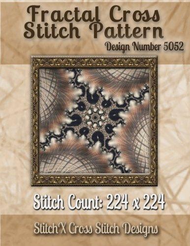 Fractal Cross Stitch Pattern: Design No. 5052