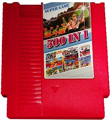 Ninja Gaiden Super Nintendo - 500 in 1 NES Game Cartridge Ninja Gaiden, Contra, Ninja Turtles, Jackal
