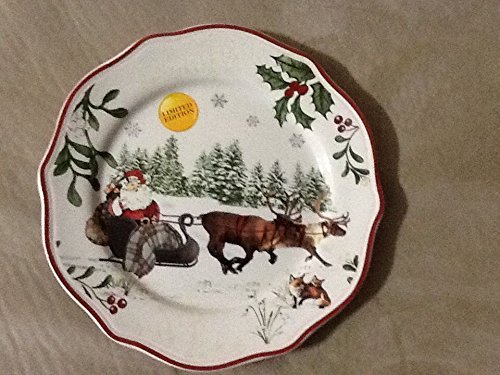 Heritage Luncheon Plate - Better Homes & Gardens Christmas