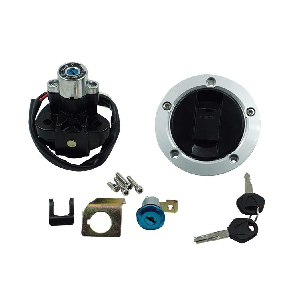 EODUDO-S para Suzuki GSXR600 750 Interruptor De Encendido De Gas Combustible Tapa Asiento Llave De Bloqueo De,2004-15 Motorcycle & Powersports