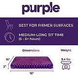 Purple Royal Seat Cushion - Seat Cushion for The