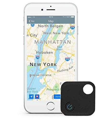 Smart Bluetooth Tracker Pet Child GPS Locator Tag Alarm Wallet Key Tracker Black - 8