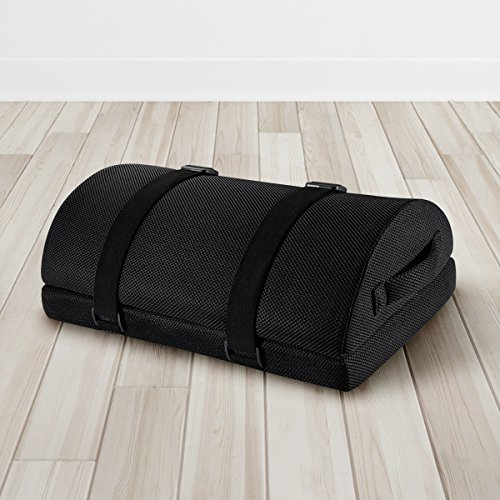 Nekmit Adjustable Foot Rest Non-Slip Ergonomic Multifunctional Firm Foam Half-Cylinder for Home and Office by Nekmit