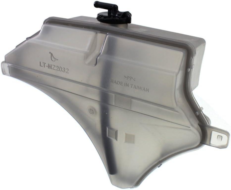Coolant Reservoir Expansion Tank compatible with CX-5 13-15//Mazda 3 14-16 Plastic w//cap