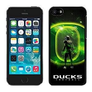 iPhone 5C Case ,Unique And Fashionable Designed Case With NCAA Pacific 12 Conference Pac 12 Football Oregon Ducks 02(1) Black For iPhone 5C Phone Case