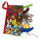 Jellycat Soft Books, Pet Tails - 8 inches
