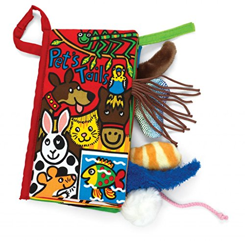 Jellycat Pet Tails Soft Book