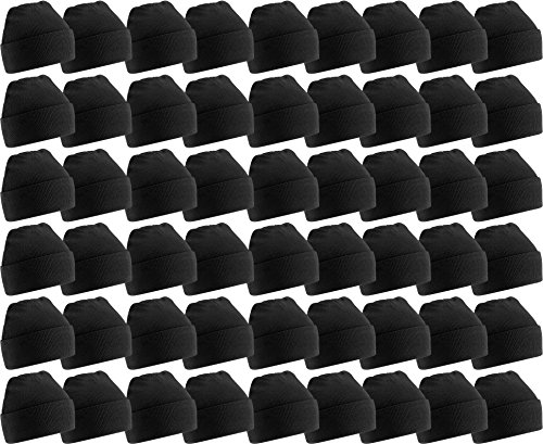 - Yacht & Smith Mens Womens Warm Winter Hats in Assorted Colors, Mens Womens Unisex (60 Pack Black A)