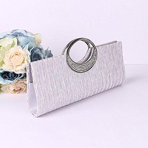 Blanc Rose Bangle009 Pochette Femme Pour FUPPa0