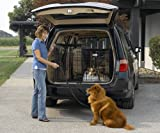 Solution Series Double Door Folding Metal Dog Crate for SUVs & Vehicles