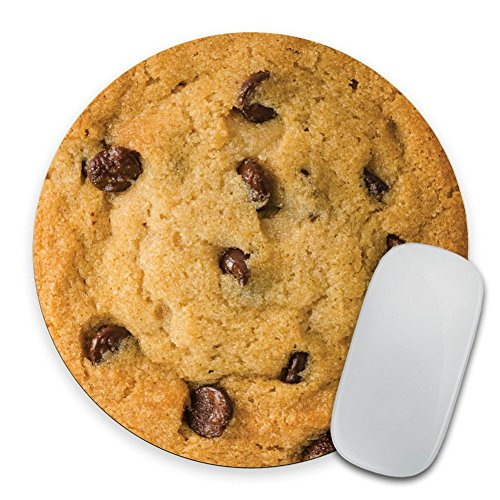 Cookie - Circle Mouse Pad - Mousepad - Funny - Coworker Gift Teacher Gift ()