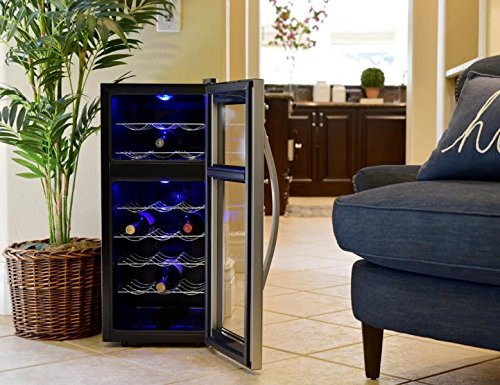 Avalon Bay AB-WINE21DS 21 Bottle Dual Zone Wine Cooler by Avalon Bay (Image #2)