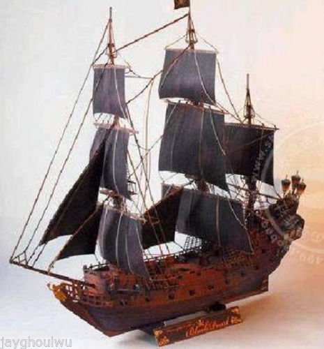 [Pirates of the Caribbean The Black Pearl 3D Puzzle Paper Model Handcraft Figure] (Lion Costume Philippines)