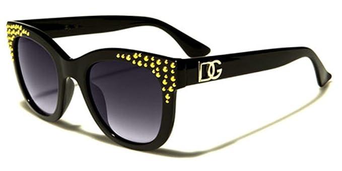 DG Eyewear Vintage Cay Eye Shaped Frame - Gafas de sol para ...