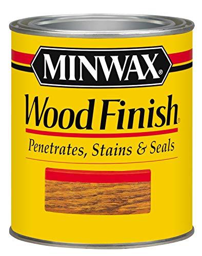 Minwax 70013 1 Quart Ebony Wood Finish Interior Wood Stain
