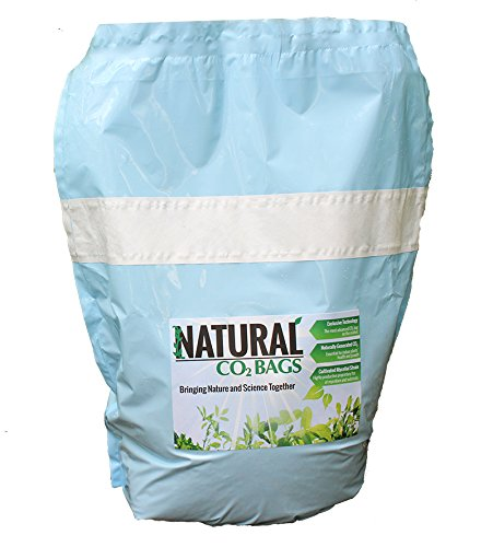 Natural CO2 Grow Bags for your Indoor Garden, Grow Tent, or Greenhouse (Plant Co2 Natural)