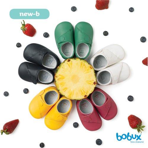 Bobux 460672 Baby Mädchen Krabbelschuhe Grün (Apple)