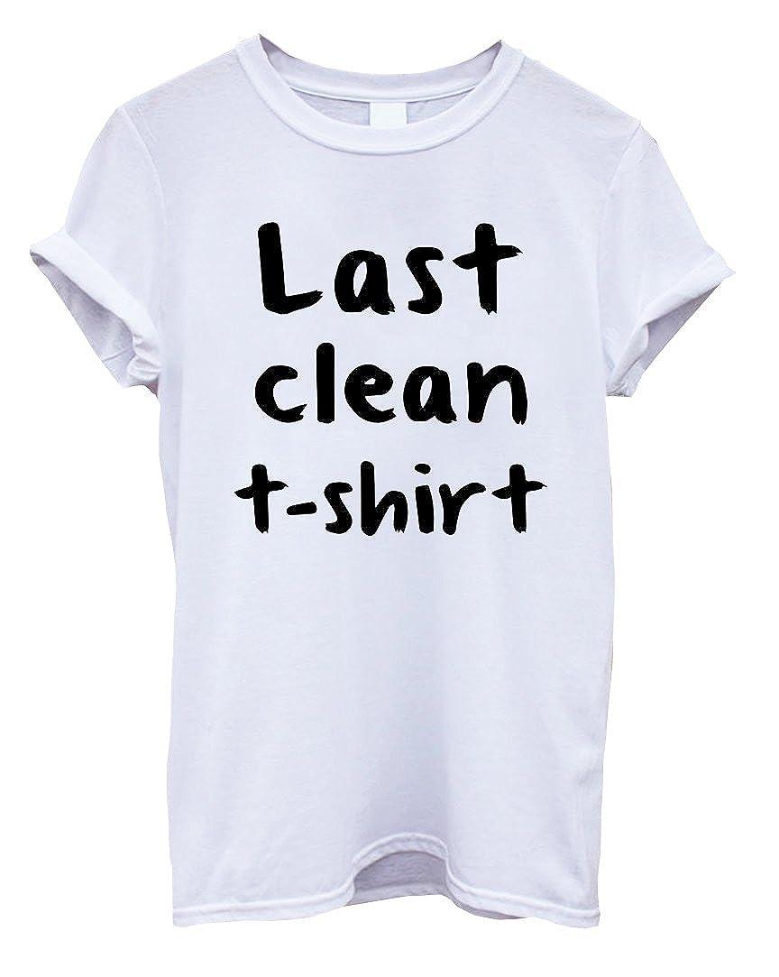 4e47a37c7 Amazon.com: Last Clean T-Shirt Funny Mens T-Shirt [Apparel]: Clothing